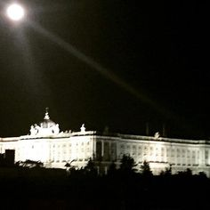 Palacio real noche de San Juan