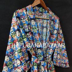 Kimono Design, Cotton Kimono, Kimono Fashion, Women's Fashion, Summer Bikinis, Kimono Dress, Japanese Kimono, Printed Cotton, Wrap Dress