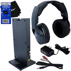 Sony MDRRF985RK Wireless RF (Radio Frequency) Headphone with Transmitter Base Station + Stereo Connecting Cable + AC adaptor + HeroFiber Ultra Gentle Cleaning Cloth - http://allcamerasportal.com/sony-mdrrf985rk-wireless-rf-radio-frequency-headphone-transmitter-base-station-stereo-connecting-cable-ac-adaptor-herofiber-ultra-gentle-cleaning-cloth/  Please visit site by clicking here: http://allcamerasportal.com.