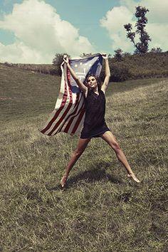 Wave your American Flag! // #patriotic