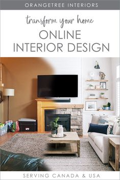 Turn the house you live in into a home you love with ONLINE interior design.  Whether you just need advice, a room refresh or a complete redesign, we can help you design a home you love, feel comfortable in and you're proud of. Contact us today! Serving Canada & USA. #onlineinteriordesign #edesign #canada #onlineinteriordesignservices #edesignservices #onlineinteriordecoratingservices Online Interior Design Services, Interior Design Tips, Decorating Your Home, Interior Decorating, Decorating Tips, Your Design, Modern Design, Rooms Ideas, Best Paint Colors