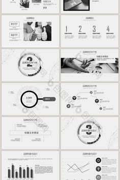 Europe and the united states atmospheric business plan ppt template minimalist black and white brand marketing universal ppt template slide keynote presentation toneelgroepblik Gallery