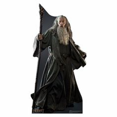 Gandalf the Grey The Hobbit an Unexpected Journey and The Lord of the Rings Life Sized Cardboard Cutout $34.95