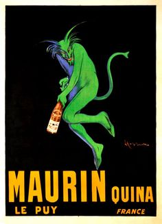 love vintage French posters...  Have this one
