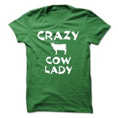 Crazy Cow Lady T-Shirt