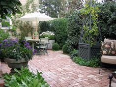 "this is the old brick ""floor"" i want under my pergola"