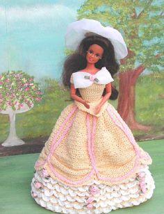 Crochet mode poupée Barbie Pattern  177 par JudysDollPatterns