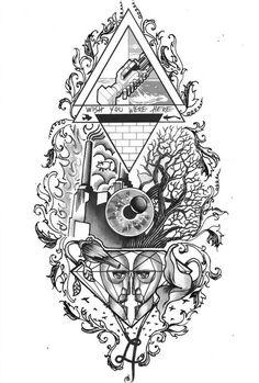 Ideen Tattoo Ideen Musik Design Pink Floyd - Ideen Tattoo Ideen Musik D . Music Tattoos, Body Art Tattoos, Unique Tattoos, Small Tattoos, Draw Tutorial, Pink Floyd Artwork, Arte Pink Floyd, Framed Art Prints, Piercings