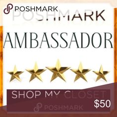 5🌟 Posh Ambassador Mentor Top Seller Top ❤️ Notes 5🌟 Posh Ambassador Mentor Top Seller Top ❤️ Notes.... what will your gifts be??? If you order from me? Jenuine Jules Accessories