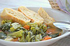 Minestra estiva light con germogli di zucchina #ricetta di @luisellablog