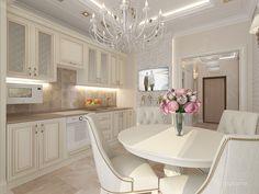 Кухня в 1-комнатной квартире (ЖК Шоколад). Кухня