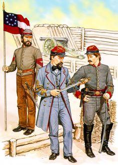 Confederate artillery crew