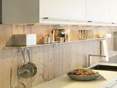 Attraktive Wohnideen, wie man eine Küchenrückwand einbauen kann
