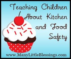 Wonderful tips for food safety - always cut away from you, open lids away from you, wash your hands throughout the food prep process, etc.