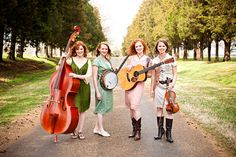 Redhead Express at Silver Dollar City during Bluegrass & BBQ Festival 2012