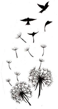 Dandelion Tattoo 3 by ~Metacharis on deviantART