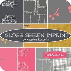 Gloss Sheen Imprint Fat Quarter BundleKatarina Roccella for Art Gallery Fabrics - Fat Quarter Bundles | Fat Quarter Shop