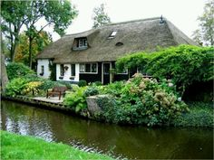 Beautiful cottage in Holland....very peaceful and enchanting