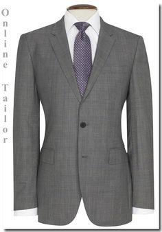 Grey POW Check Beaulieu Suit Online Tailor ca124ba9a80
