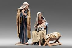 Holy Family Group 3 — Navidad Nativities, Inc. Christmas Nativity Scene, Christmas Images, A Christmas Story, Christmas Carol, Nativity Scenes, Xmas, Free To Use Images, Miniature Rooms, Eucharist
