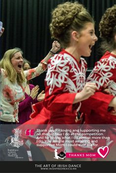 It is never enough to let our Mom know how much we love her and how thankful we are for her support and love in all what we do!  #InishfreeMexico™  Tania Martínez  #IrishDancer  #TEAMinishfree | Photo Cred: Chris Ratcliffe/Getty Images    #Inishfree School of #IrishDancing  #Academia de #DanzaIrlandesa #InishfreePedregal y #InishfreeToluca #inishfreeTeam #Winishfree #DanzaIrlandesaMexico #IrishDanceMexico #SoftShoes #Guillies  #MothersDay