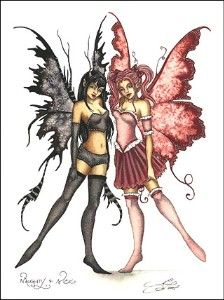 Naughty & Nice Fairies  Amy Brown