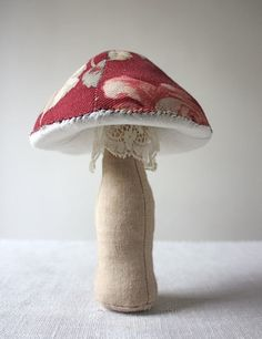 crimson mushroom