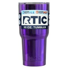 RTIC Purple Translucent 30 oz Tumbler from TrekTumblers