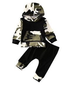 Sleezy Infant Baby Boys Camouflage Hoodie Tops +Long Pants Outfits Set Clothes 0-3Y (2T-3T, Camouflage). For price & product info go to: https://all4babies.co.business/sleezy-infant-baby-boys-camouflage-hoodie-tops-long-pants-outfits-set-clothes-0-3y-2t-3t-camouflage/ #babyboyhoodies #babyhoodie #babyboyoutfits #boyoutfits
