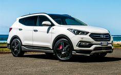 The Hyundai Santa Fe Series II brings some worthy updates to an already strong offering. Tucson Tuning, Hyundai Suv, Hyundai Vehicles, Mom Mobile, Hyundai Santa Fe Sport, Range Rover Supercharged, 2016 Cars, Car Goals, Custom Cars