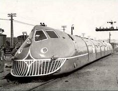 Talgo I, the first locomotive of the newly incorporated Talgo in Spain, 1942 Electric Locomotive, Diesel Locomotive, Steam Locomotive, Rail Train, Tramway, Rail Transport, Bonde, Train Pictures, Old Trains