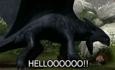 How to train your dragon 2 gifs | reaction, how to train your dragon, toothless