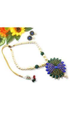Elegant Pacchi Necklace Set @999/-