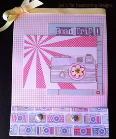 minialbum  i made using the heartstring designs march sn@p that kit