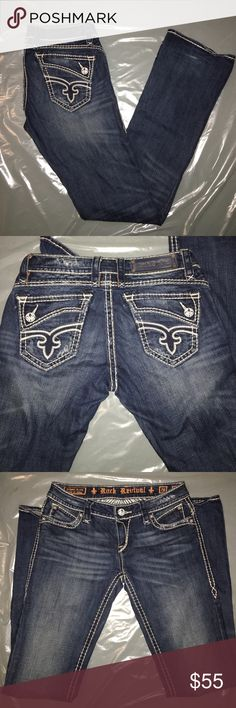 Rock Revival jeans sz 28 x 34 Johanna boot Pre loved good condition Rock Revival Jeans Boot Cut