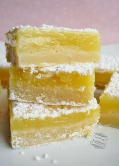 cuadrados de limon