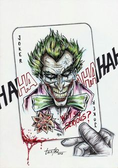 Der Joker, Joker And Harley Quinn, Joker Drawings, Tattoo Drawings, Hahaha Joker, Evil Jester, Poker Tattoo, Joker Pics, Batman Tattoo