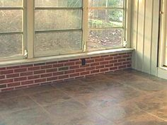 HOW TO INSTALL A HEATED TILE FLOOR  A radiant-heat floor can save homeowners up to 25 percent in energy bills. These step-by-step instructions show how to install a radiant-heat system and tile floor.
