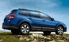 Subaru Outback: I love this color!
