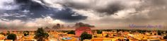 Kassala_Sudan - A stormy and rainy day in Kassala, Eastern Sudan, near Eritrean border.