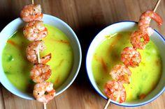 Nachdem der Frühling noch immer auf sich warten lässt und die zum Teil eisigen Temperaturen uns zittern lassen, ist diese Thai-Suppe genau das Richtige, um sich ein bisschen aufzuwärmen. Since spri...