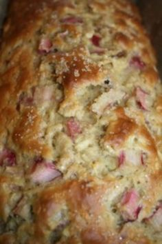 Rhubarb Apple Loaf