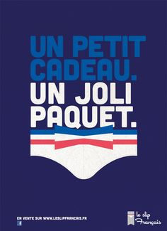"""""""a small gift with a sweet package"""" French underwear add <3"""