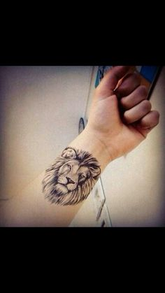 Lion tattoo