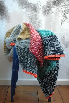 "Knitting - ""spacecurry's blanket"" - free pattern by Stephen West on Ravelry"