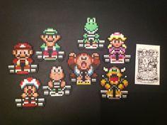 Mario Kart Pixel Art by Obsolete Gaming