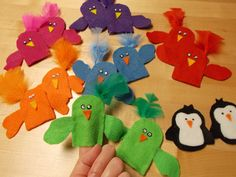 Fun with Friends at Storytime: finger puppets