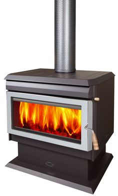 PREMIUM FREESTANDING WOOD HEATER LARGE Wood Heaters, Firewood, Home Appliances, Spaces, House, Design, Iron, Fire, House Appliances