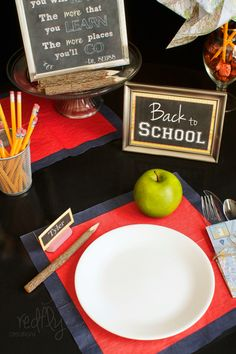 1000 images about school theme on pinterest back to for Back to school decoration ideas