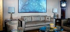Modern Home Interior Design by Art Deco: Art Deco Living Room Furniture